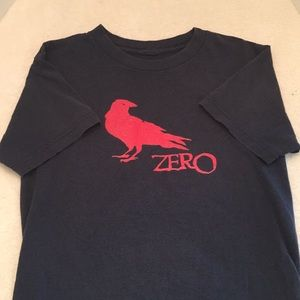 Vintage Zero Skateboards Crow Tee